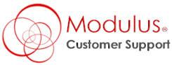 Modulus Customer Support